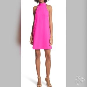 Ted Baker Halterneck Scallop Tunic Dress- ChicEwe